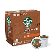 Starbucks Pike Place Coffee K Cups