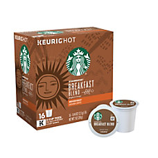 Starbucks Pods Breakfast Blend Coffee K