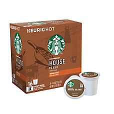 Starbucks Pods House Blend Coffee K