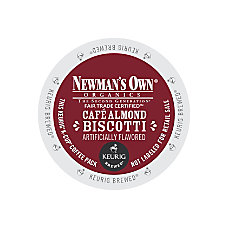 Newmans Own Almond Biscotti K Cups