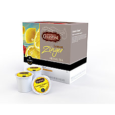Celestial Seasonings Pods Lemon Zinger Pods
