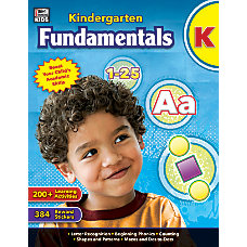 Thinking Kids Fundamentals Workbook Kindergarten