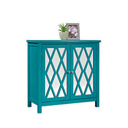 Sauder Inspired Accents Console Table Caribbean