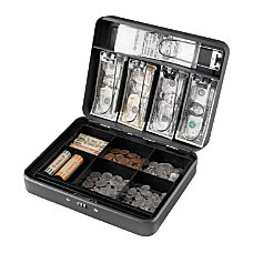 Steelmaster Steel Combination Lock Cash Box