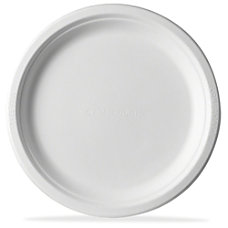 Eco Products Sugarcane Plates 50 Pack