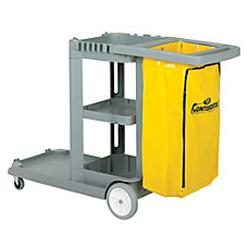 CMC Standard Janitorial Cleaning Cart 38