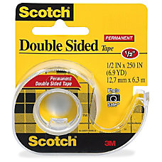 Scotch Double Sided Tape 050 Width