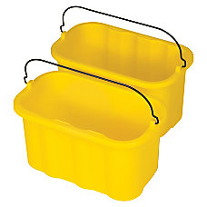 Rubbermaid Sanitizing Caddy 10 Quarts Yellow