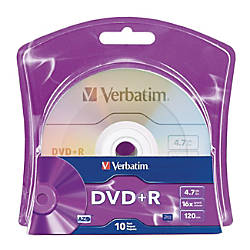 Verbatim 96942 DVD Recordable Media DVDR
