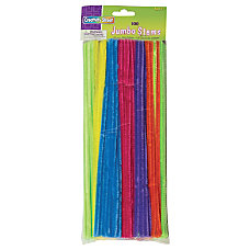 ChenilleKraft Jumbo Chenille Neon Pipe Cleaners
