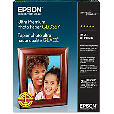 Epson Ultra Premium Photo Paper Letter