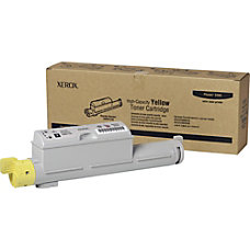 Xerox 106R01220 High Capacity Yellow Toner
