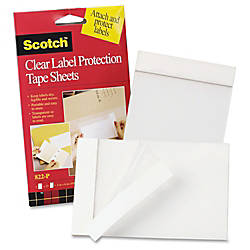 3M Label Protection Tape Sheets 4