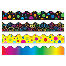 Carson Dellosa Scalloped Borders Multicolor Grades