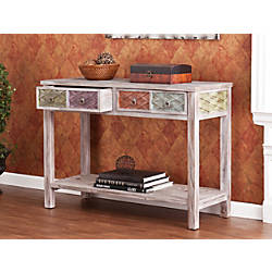 Southern Enterprises Dharma Console Table Rectangular