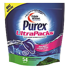 Purex UltraPacks Laundry Detergent Mountain Breeze