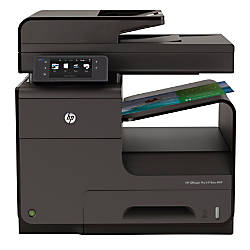 HP Officejet Pro X476dw Color Inkjet All-In-One Printer, Copier, Scanner, Fax
