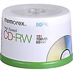 Memorex 03433 CD Rewritable Media CD