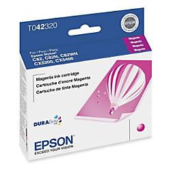 Epson T0423 T042320 DuraBrite Magenta Ink