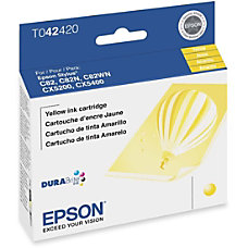 Epson T0424 T042420 DuraBrite Yellow Ink