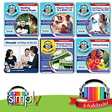 Life Skills Audiobooks 6 Title Collection