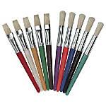 Charles Leonard Stubby Brush Set Assorted