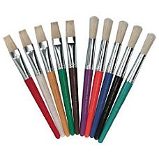 Charles Leonard Stubby Brush Set Flat