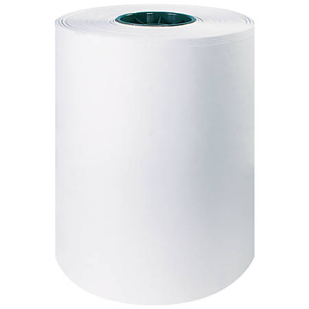 office depot brand butcher paper roll 12 x 1000 white by office depot officemax. Black Bedroom Furniture Sets. Home Design Ideas