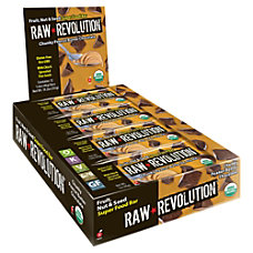 Raw Revolution Bars Chunky Chocolate Peanut