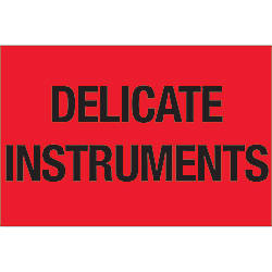 Tape Logic Preprinted Labels Delicate Instruments
