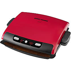 George Foreman 6 Serving Removable Plate