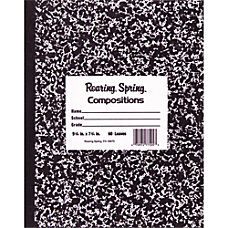 Roaring Spring Tape Bound Composition Notebook