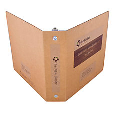 ReBinder Original Cardboard 3 Ring Binder
