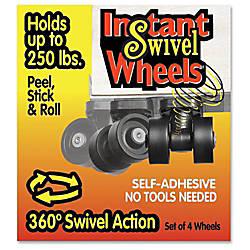 RollArounds Caster Instant Swivel Wheels 163