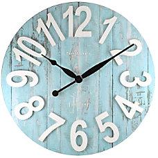 FirsTime Transatlantic Wall Clock 22 12