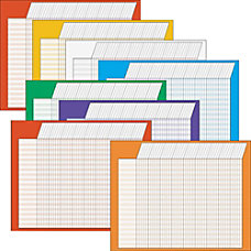 Trend Horizontal Incentive Charts Assorted Colors
