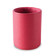 Realspace Executive Leatherette Pencil Cup 4