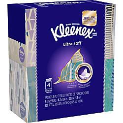 Kleenex Ultra Soft Facial Tissue 3