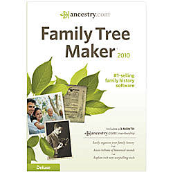 Family Tree Maker® Deluxe 2010, Traditional Disc