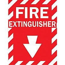 14X10 FIRE EXTINGUISHERSIGN FIBERGLASS