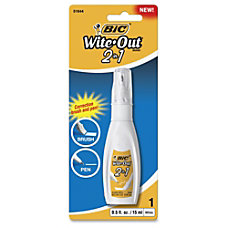 Wite Out 2 in1 Correction Fluid