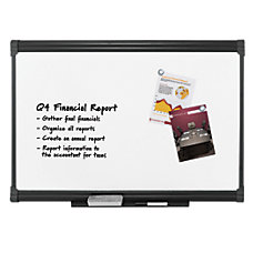 FORAY Porcelain Magnetic Dry Erase Board