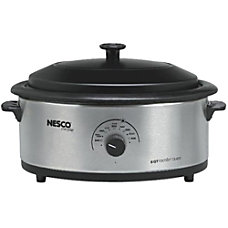 Nescote Stainless Steel Roaster With Non