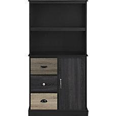Ameriwood Altra Blackburn 2 Shelf Storage