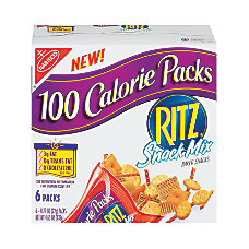 Ritz 100 Calorie Snack Mix Packs
