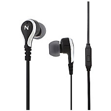 Nutz Swagga Earbud Earphones Black