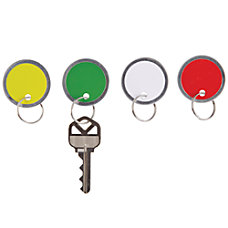 Office Depot Brand Round Key Tags