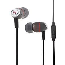 Nutz Swank Earbud Earphones Black