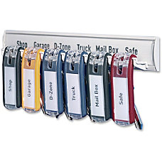 Durable 6 tag Key Rack 24