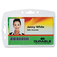 Durable 800580128268 Replacemt ID Card Holders